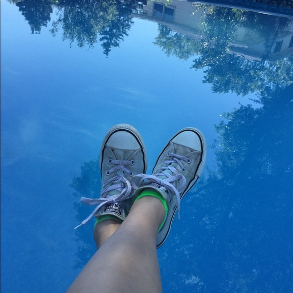 Converse Other - Teal converse